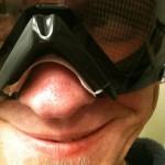 Breath with Snowboard Goggles ZealOptics Eclipse SSPX