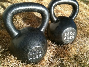 24kg and 28kg Kettlebells