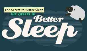 Secrets to Better Sleep | Fitness InfoGraphic