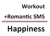 Key To Happiness | Workout And Send Romantic SMS