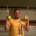 Softball Pullup Grips | DIY Fitness Equipment