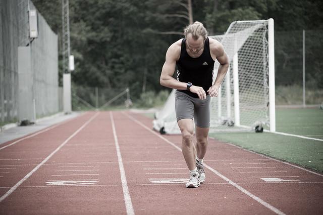 Interval running (race track) 5 by Michael Lokner, on Flickr