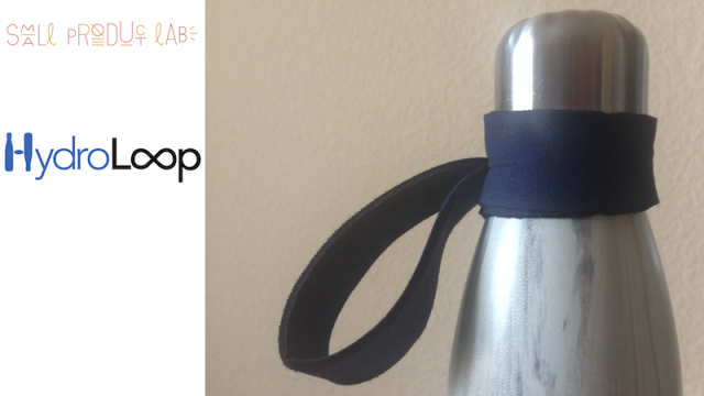hydroloop water bottle strap
