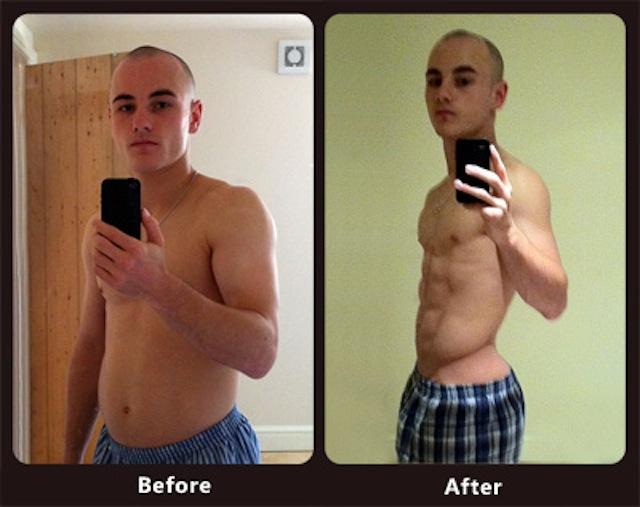 rapid fat loss diet results
